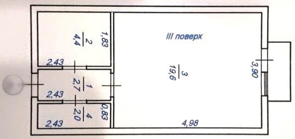 продажа однокомнатной квартиры номер A-157561 в Малиновском районе, фото номер 8
